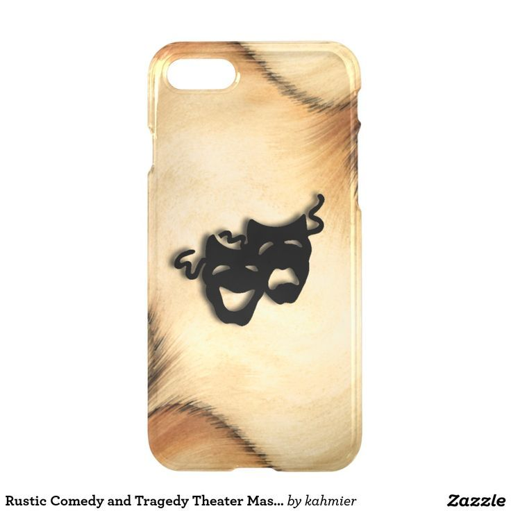 Awesome Apple iPhone 2017: Rustic Comedy and Tragedy Theater Masks iPhone 7 Case 17% off #apple #smartphone... iPhone 7 case