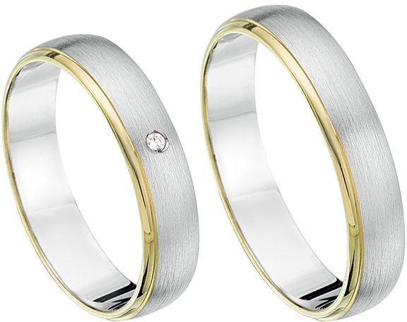 Goedkope trouwringen. Pak uw voordeel. Koop eenvoudig uw droom trouwringen online! Deze trouwringen zijn bijzonder en mooi vormgegeven. Bestel nu. - € 550,00
