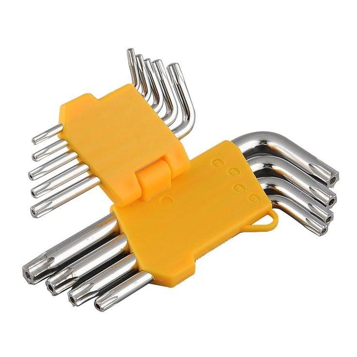 ราคาพิเศษนาทีนี้<SP>Lucky 9PCS Offset Torx Star Wrench L-Shape T25 T27 New - intl++Lucky 9PCS Offset Torx Star Wrench L-Shape T25 T27 New - intl Good Quality Durable Easy to Use 418 บาท -21% 529 บาท ช้อปเลย  Good QualityDurableEasy to Use ...++