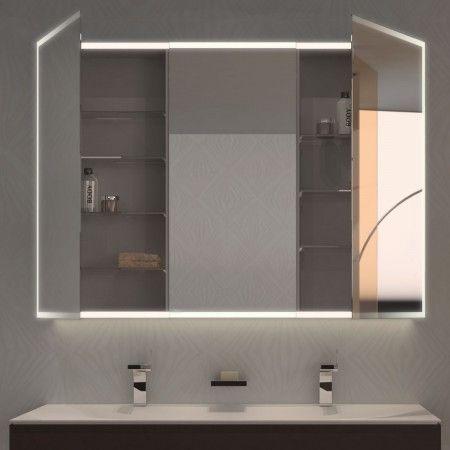 Spiegelschrank nach Maß mit LED Credo