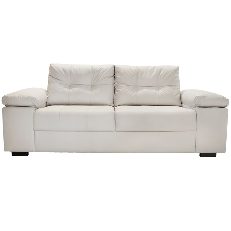 Sof 3 lugares off white france sof s toque a for Couch 0 interest