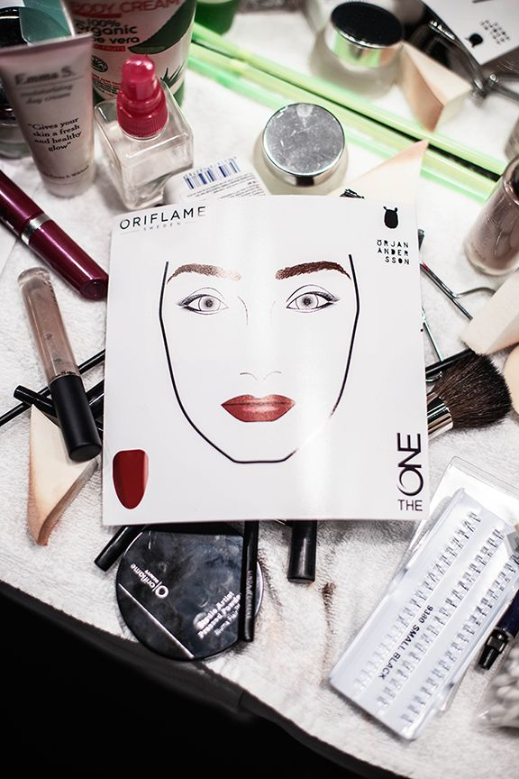 The ONE Face Chart Stockholm Fashion Week