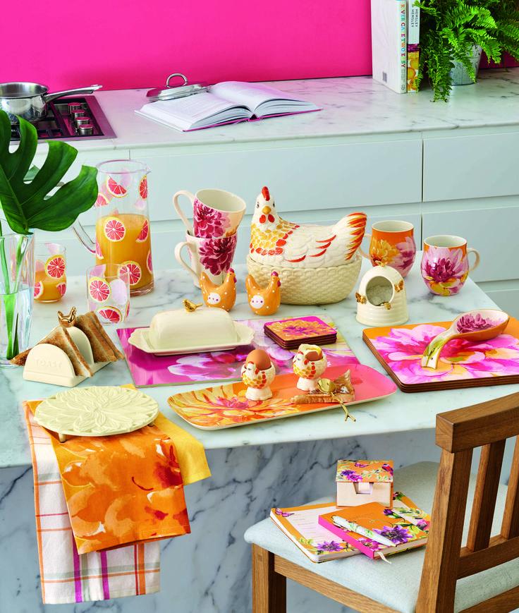 Идеи красивого декора для кухни, яркие краски, сочные цвета - украшение и уют