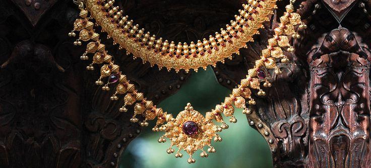 Tanishq Maharashtrian Bride Wedding Jewellery Collection - Necklace Set(1)
