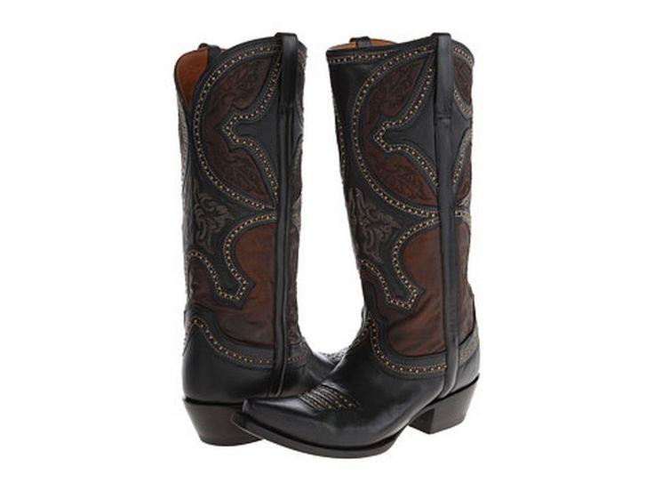 SALE Lucchese® Ladies' Black/Tobaco Sahara Desert Boots