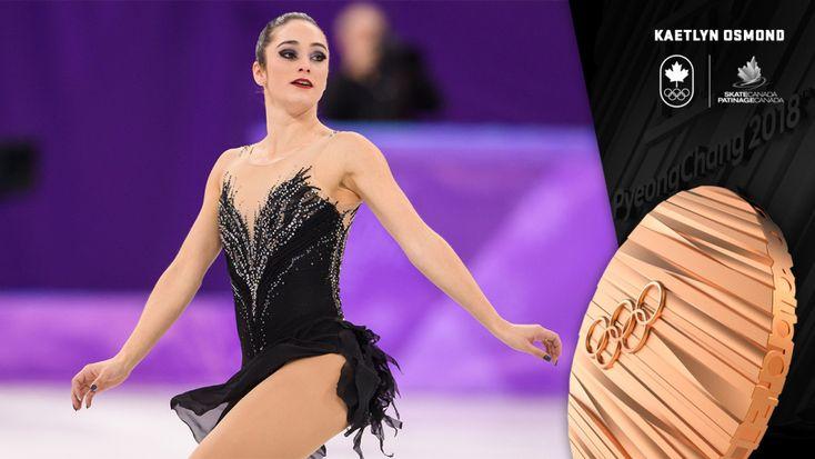 Osmond wins bronze in women's singles figure skating