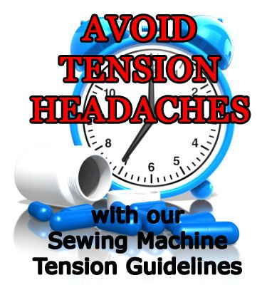 Learn to make adjustments to your sewing machine tension to make quilting a breeze. Stop tension headaches NOW!