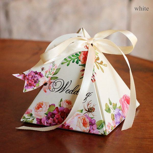 bohemian floral wedding candy favor boxes EWFB141 : gift boxes for wedding favors - Aboutintivar.Com