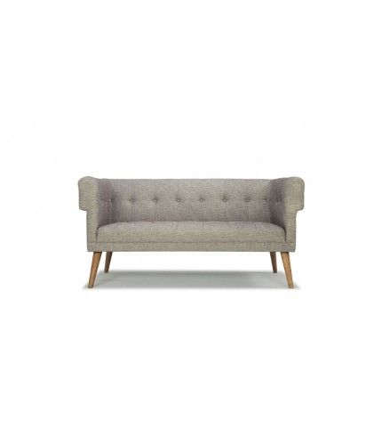 Harry, 2-seater sofa, Merle wolf-grey