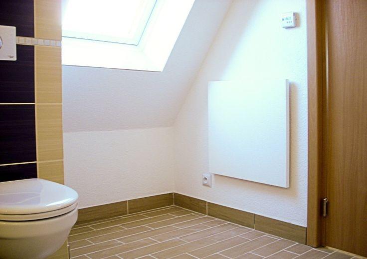 Panel grzewczy na podczerwień model Radius - ogrzewanie łazienki