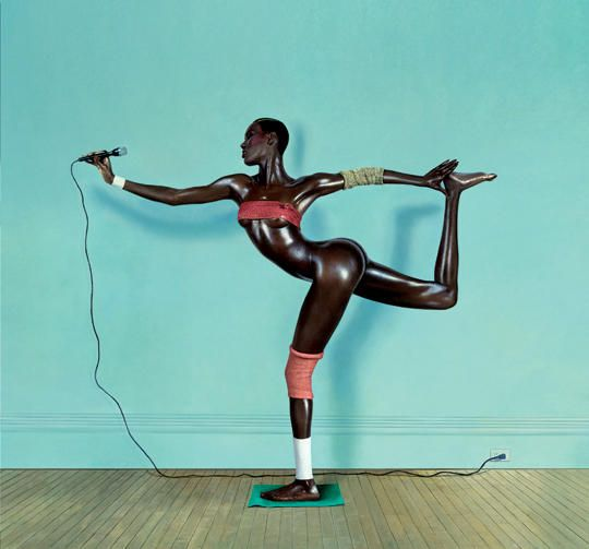 Pinspire - Jean-Paul Goude Grace Jones