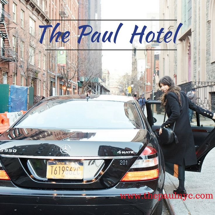 Another beautiful day! Plan this weekend to visit NYC. Book with us today. www.thepaulnyc.com