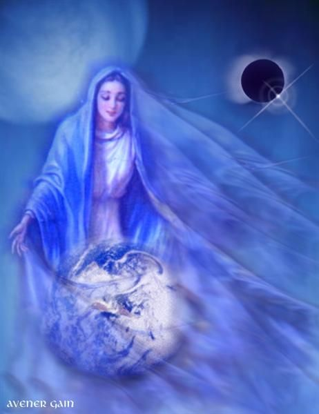 Blessed Virgin Mary, Queen of Heaven, our Mother who loves us so very much.