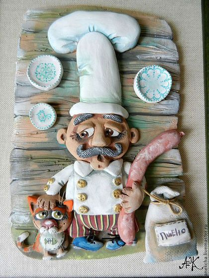 "Animals handmade.  Fair Masters - handmade Panel ""sausage"".  Handmade."