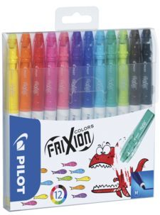 Pyyhittävät tussit Frixion Colors - 27,95e