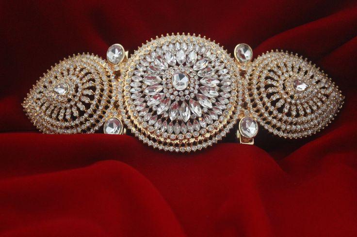 Luxuriöse Gürtel Broschen by #Zwina Accessoires zum Kaftan de Lux