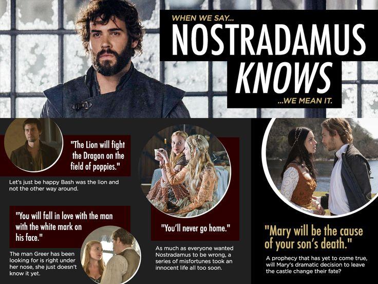 M'Lady Magazine: Nostradamus Knows