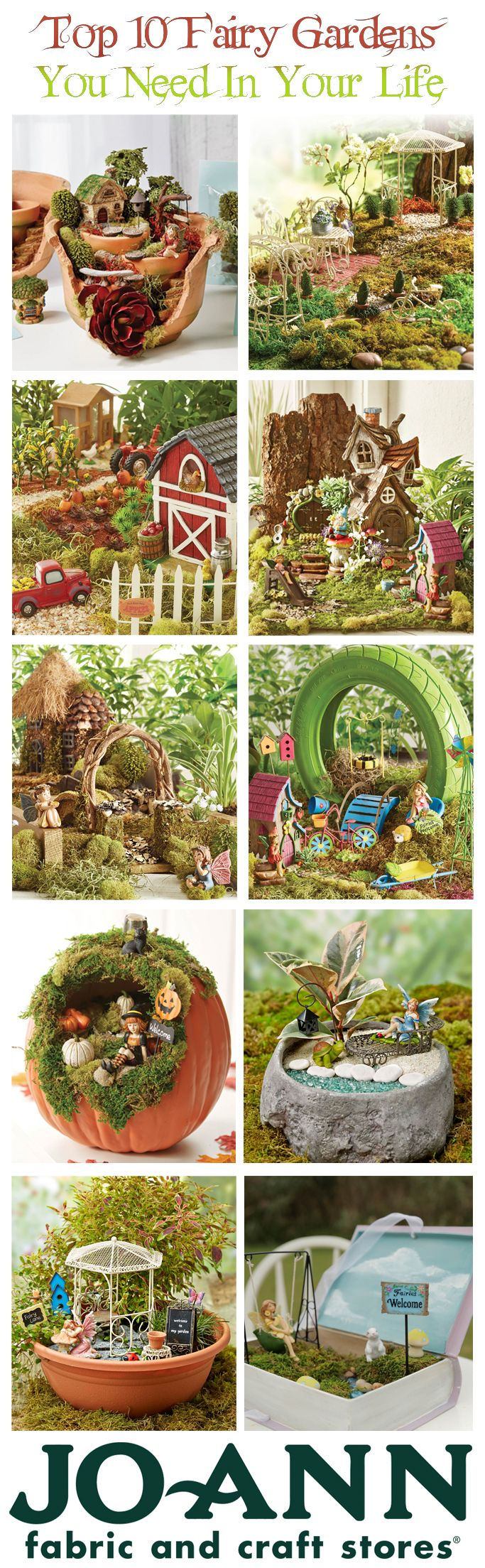 Top 10 Fairy Gardens That You Need This Spring! | Fairy Garden Tips And  Tricks
