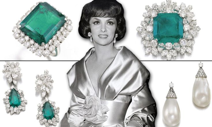 Gina Lollobrigida's pearl earrings sell for staggering £1.6m at auction - smashing Liz Taylor's record of £1.3m