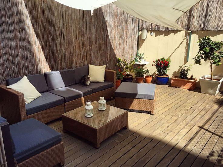 Central, sunny terrace, private bathroom & kitchen - Appartements à louer à Barcelone, Espagne
