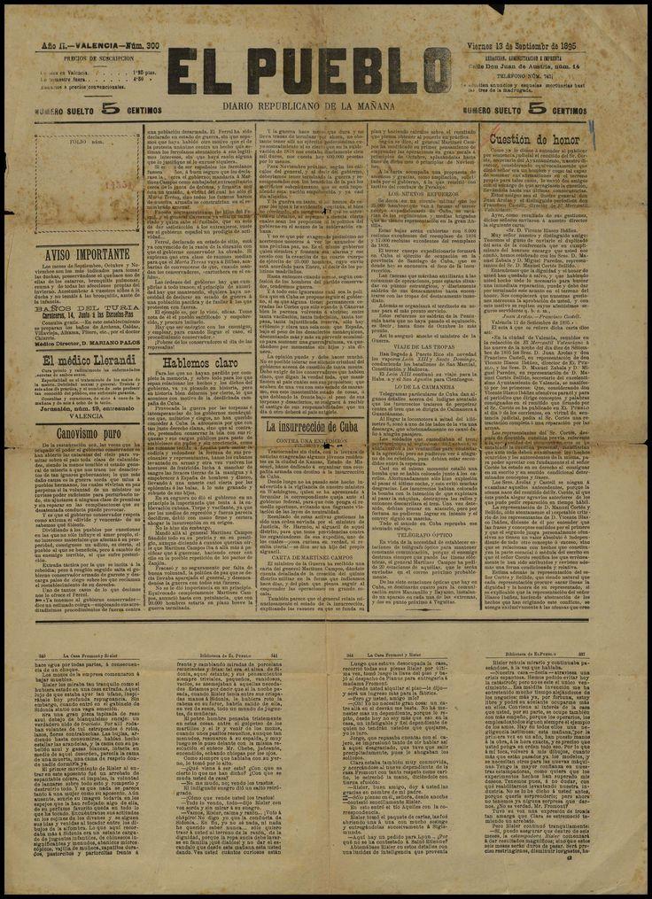 El Pueblo diario republicano de la mañana. (18941939