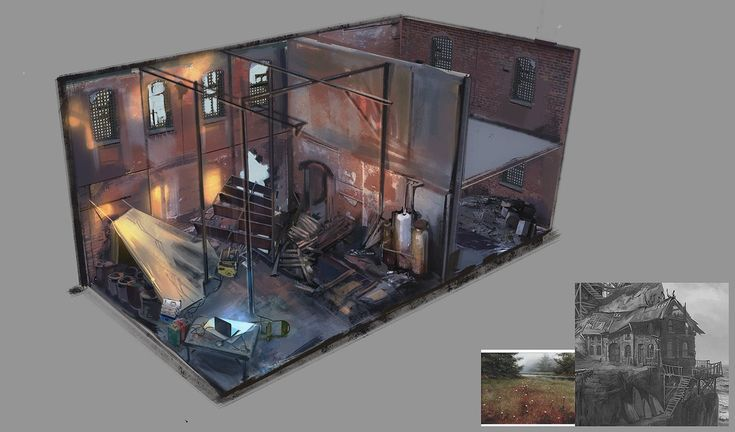 Warehouse interior WIP -2 by AnDary on DeviantArt