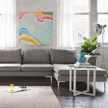 Diagonal Tweed Floor Rug 160 x 230cm was $199; NOW $99 #freedomautumnsale