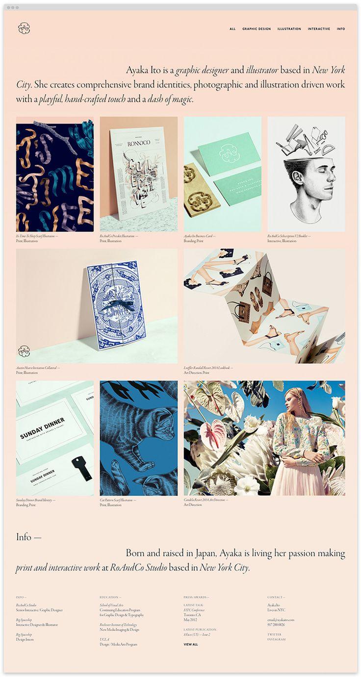 Digital, web, design, art director, portfolio, clean, designer