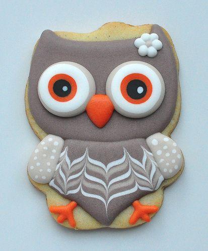 Owl using a Hello Kitty Cutter | Jolie Gourmandise