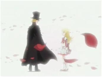 Black Rose and Nadja - Ashita no Nadja