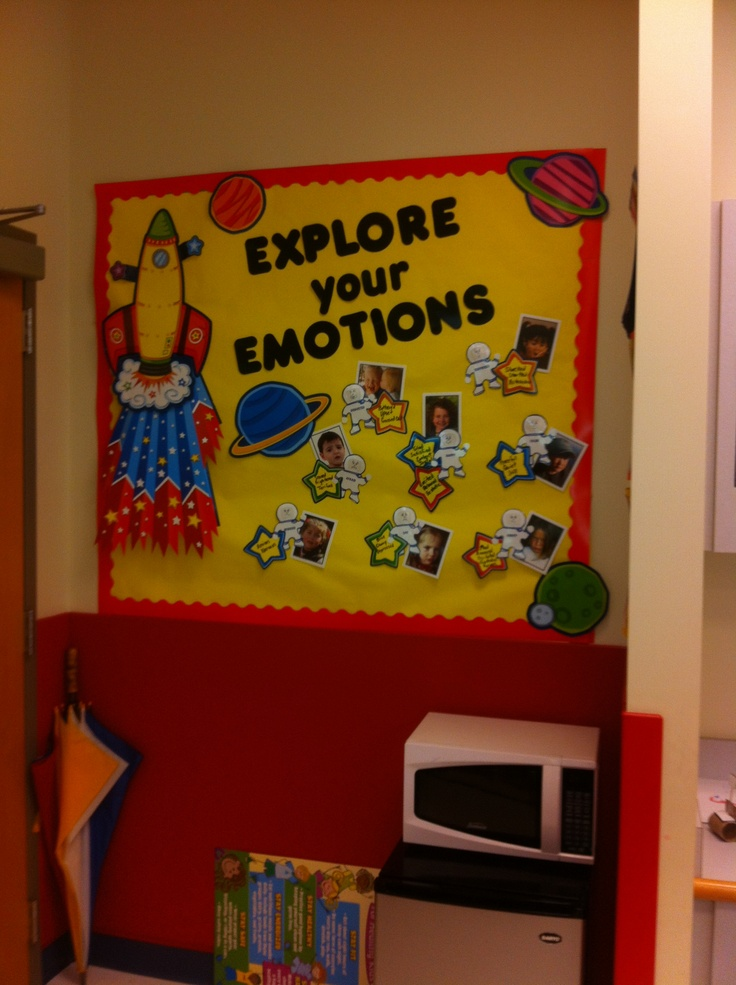 Explore your emotions bulletin board