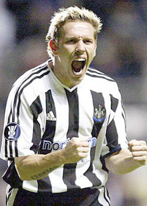 Craig Bellamy (striker) 2001-05. League apps 93. Gls 28