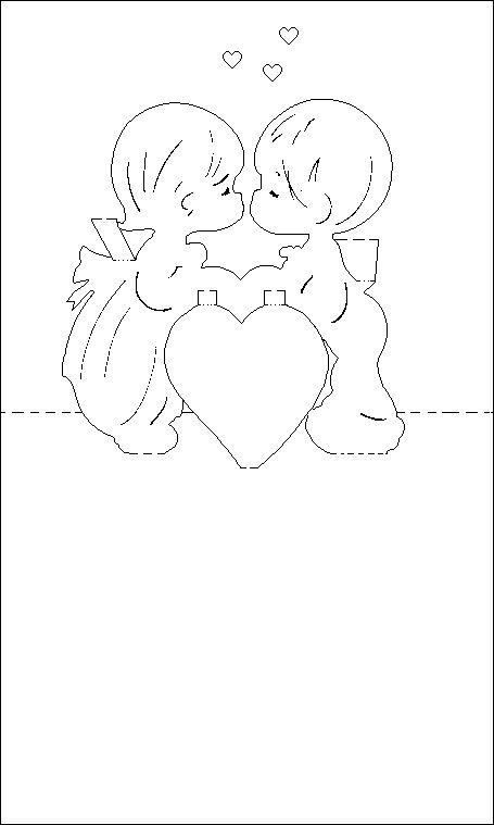 Рисунки, макеты открыток ко дню святого валентина