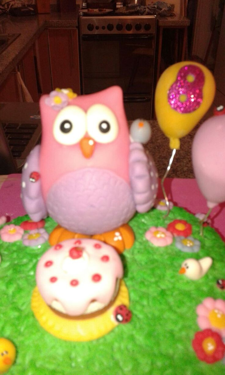 lechuza y torta