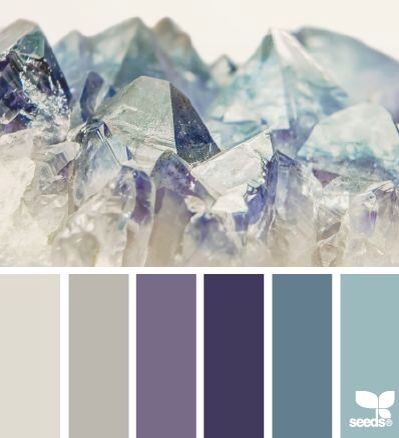 Blue aqua color palette