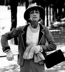image credit Gabrielle Bonheur Chanel - better known as Coco Chanel, was a French fashion designer and founder of the Chanel brand.