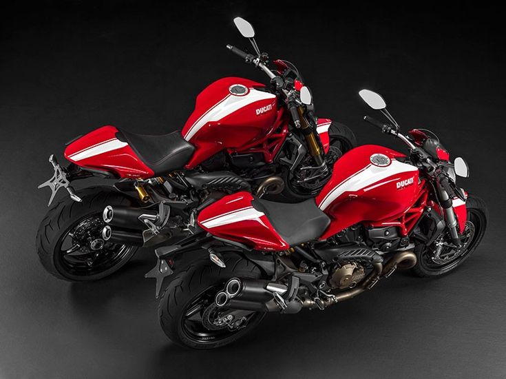 ducati monster stripe series delivers directly from the racetrack to the road