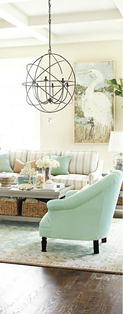 Coastal Comfort ● Living Room