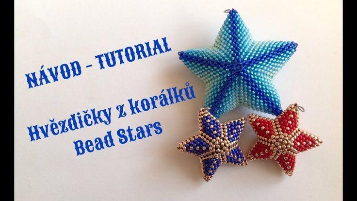 Video návod Hvězda z korálků/ Tutorial Bead Star