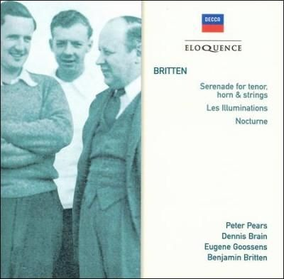 Head & Shoulders Benjamin Britten - Britten: Serenade For Tenor, Horn & Strings