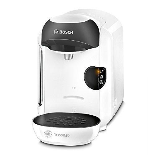 Oferta: 34€ Dto: -65%. Comprar Ofertas de Bosch TASSIMO Vivy TAS1254 – Cafetera multibebidas automática de cápsulas, diseño compacto, color blanco y negro barato. ¡Mira las ofertas!