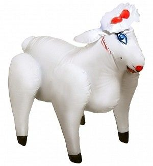 Lovin Lamb White Inflatable Party Sheep Lovin Lamb White your very own loving lamb features a rear entry opening. Party inflatable sheep comes with a pillow pack of lotion. Perfect for Perverted Pool Party, Bachelor, Bachelorette Parties, PTA Meetings, Cousin Grandpa. Material PVC. Country of origin China.   138,20 kr http://sextoysclub.no/barnyard-animals/10729-lovin-lamb-white-inflatable-party-sheep.html