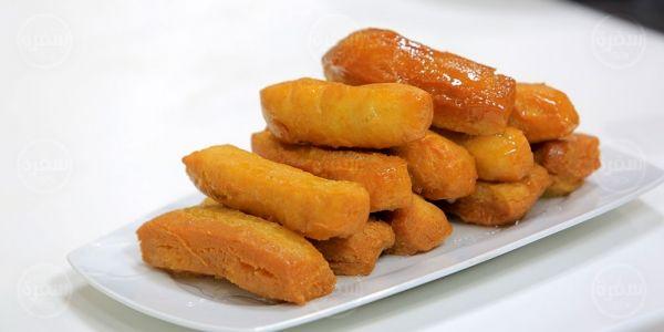 Cbc Sofra طريقة تحضير حلويات مقلية بعصير البرتقال نجلاء الشرشابي Recipe Food Sweet Potato Vegetables