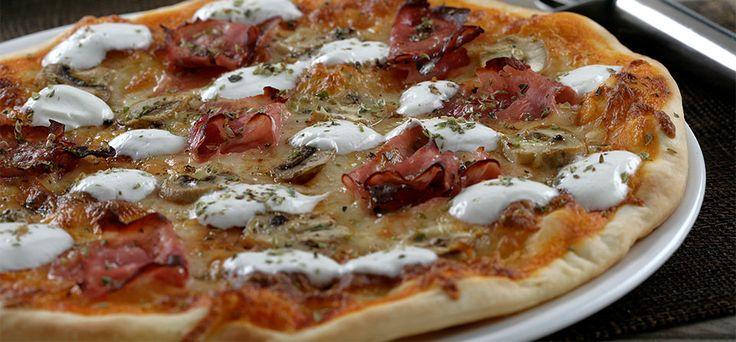 Philadelphia Pizza à Romana.