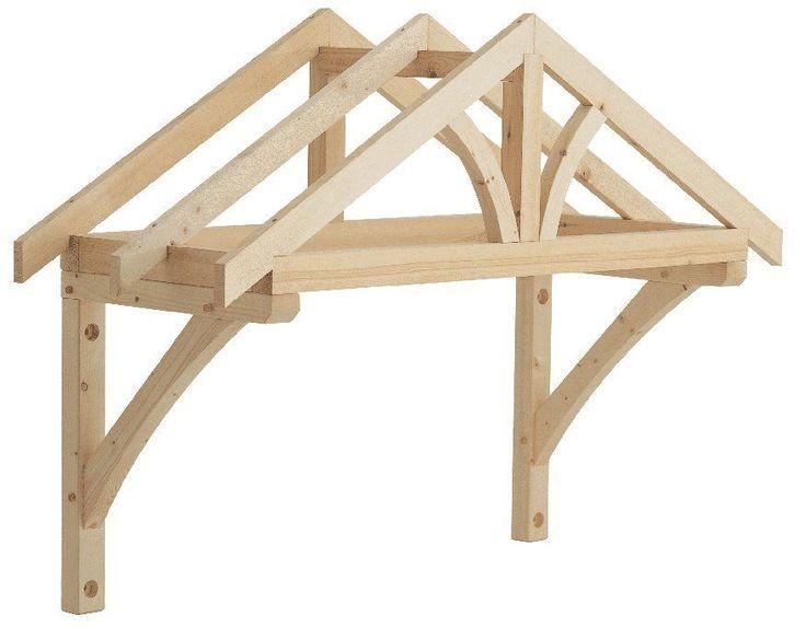 Richard Burbidge Apex Porch Canopy 1200mm + Gallow Brackets (LC001) | eBay