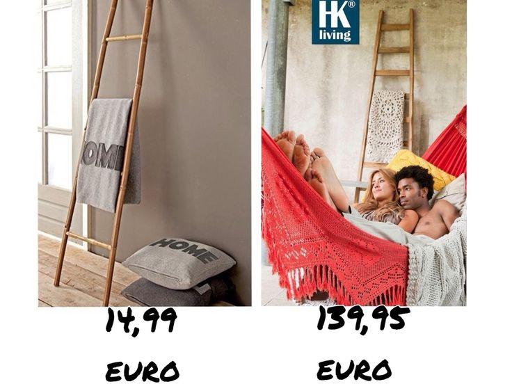 Budgetvondst: decoratieve ladder - Daily Decor