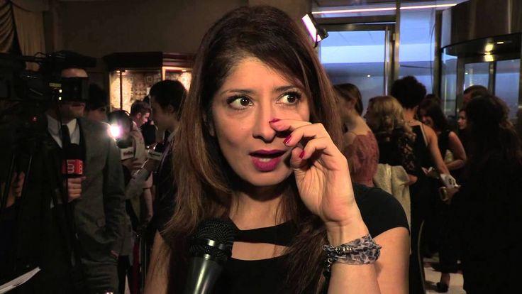 Shappi Khorsandi Interview - BAFTA Children Awards 2013 Arrivals