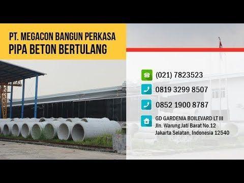 Jual Pipa Beton Bertulang (RCP) / Buis Beton Precast Harga Murah Pabrik