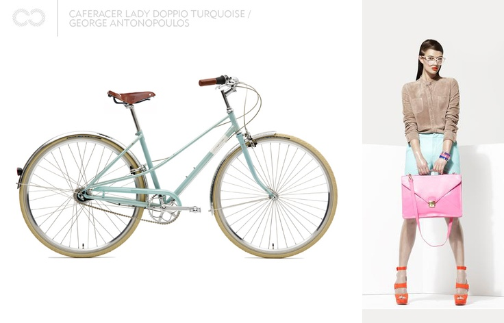 Caferacer lady doppio turquoise / George Antonopoulos