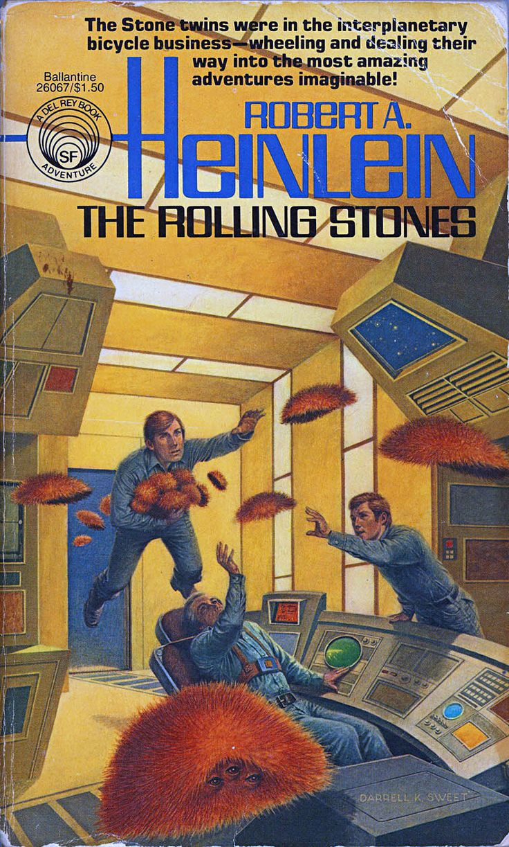 Image result for rolling stones by robert heinlein